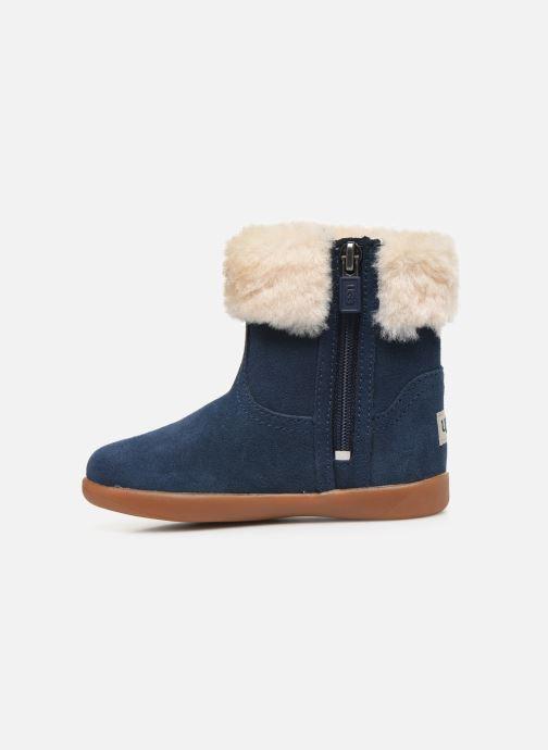 Bottines et boots UGG Jorie II K Bleu vue face
