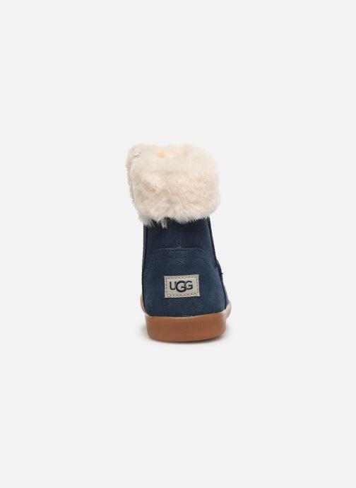 Bottines et boots UGG Jorie II K Bleu vue droite