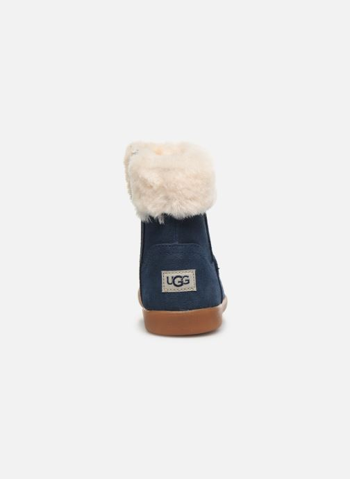 Ankle boots UGG Jorie Blue view from the right