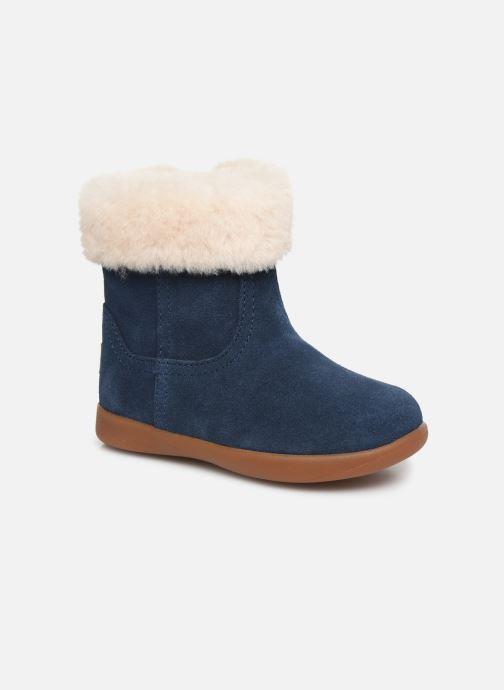 Bottines et boots UGG Jorie II K Bleu vue détail/paire