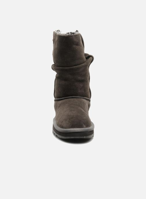 Stiefeletten & Boots Skechers Freezing Temps 47221 grau schuhe getragen