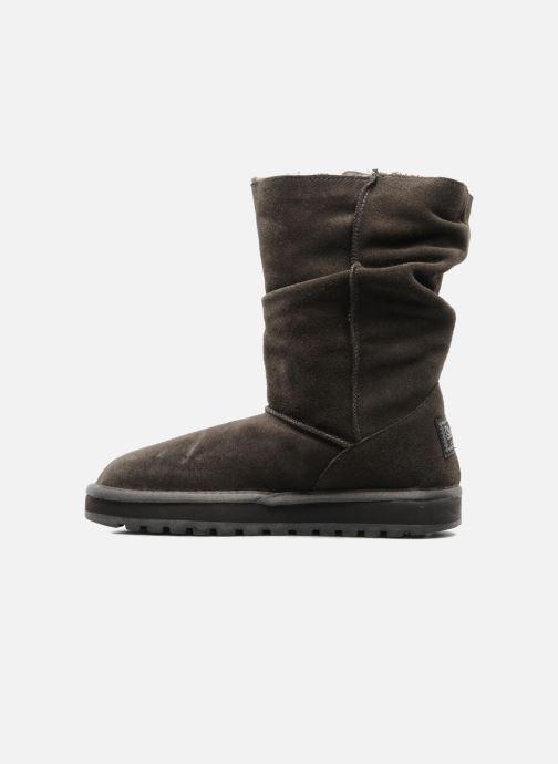 Boots en enkellaarsjes Skechers Freezing Temps 47221 Grijs voorkant