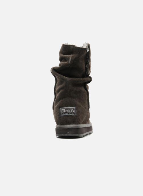 Boots en enkellaarsjes Skechers Freezing Temps 47221 Grijs rechts