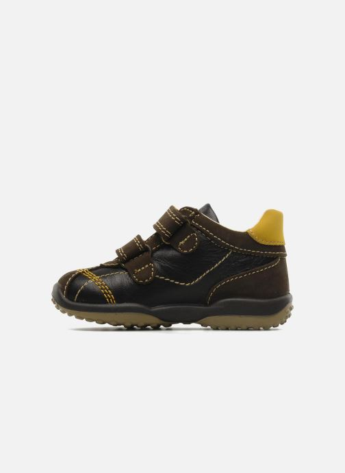 Sneakers Primigi Gasp Brun se forfra