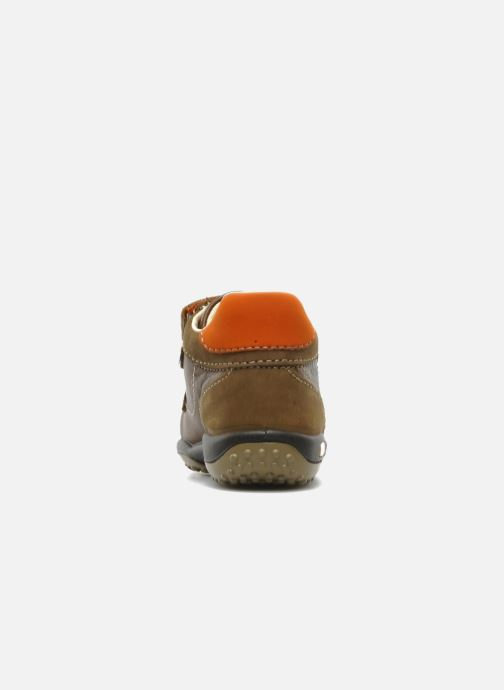 Sneaker Primigi Gasp braun ansicht von rechts