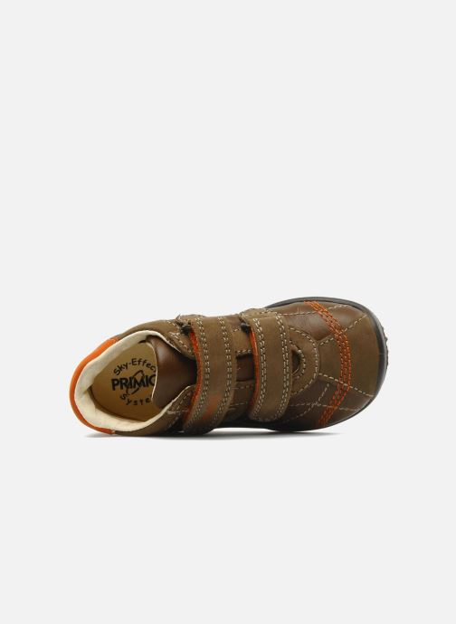 Trainers Primigi Gasp Brown view from the left