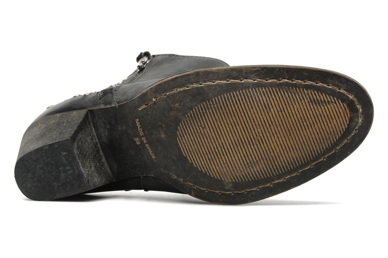 Bottines et boots Valensi Bulldog Noir vue haut