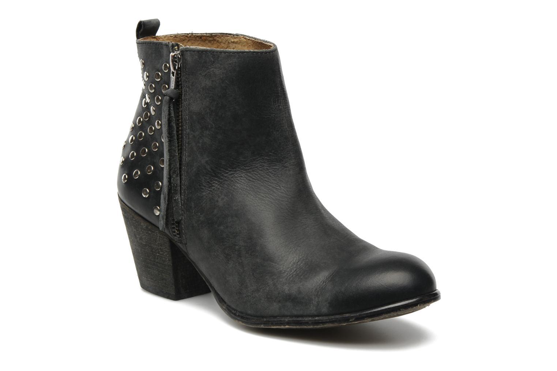 Bottines et boots Valensi Bulldog Noir vue détail/paire