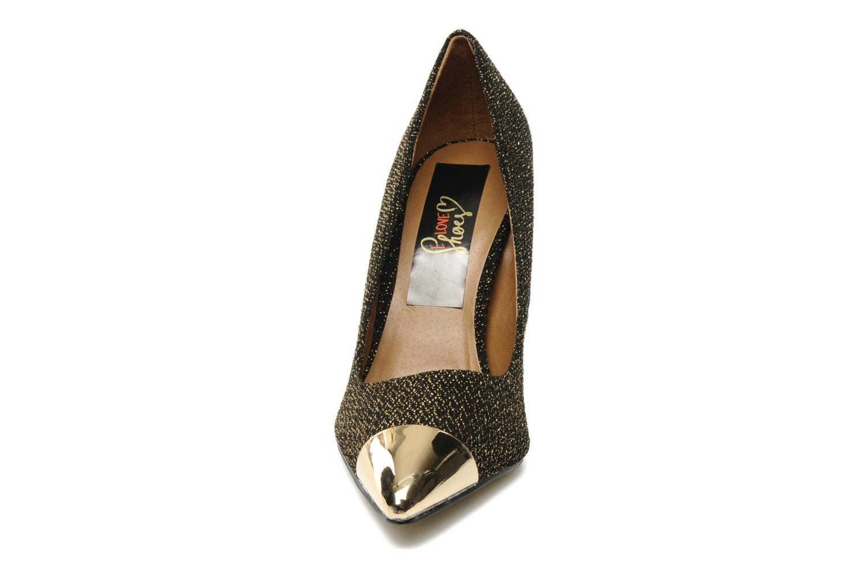 Zapatos de tacón I Love Shoes Pakeisha Oro y bronce vista del modelo