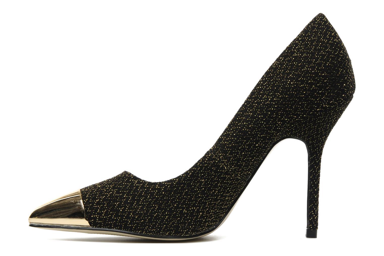 Zapatos de tacón I Love Shoes Pakeisha Oro y bronce vista de frente