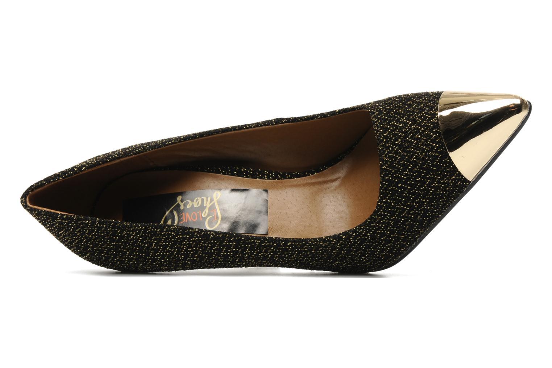 Zapatos de tacón I Love Shoes Pakeisha Oro y bronce vista lateral izquierda