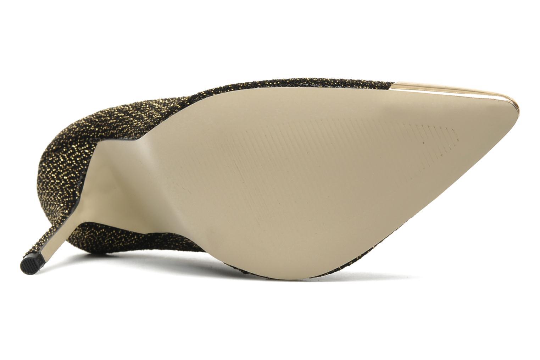 Zapatos de tacón I Love Shoes Pakeisha Oro y bronce vista de arriba