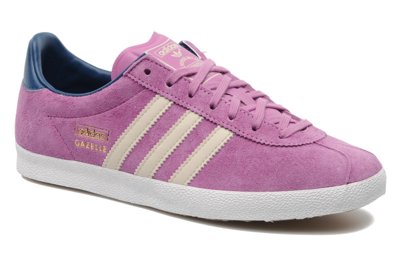 Baskets Adidas Originals Gazelle og w Violet vue détail/paire