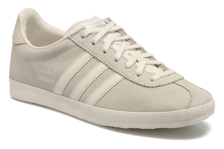 Baskets Adidas Originals Gazelle og w Gris vue détail/paire