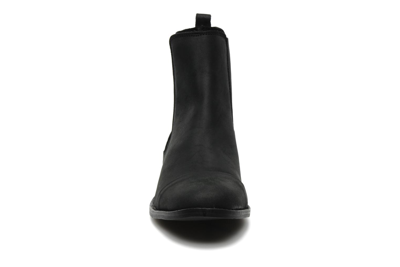 Bottines et boots Pavement Sloopy Noir vue portées chaussures
