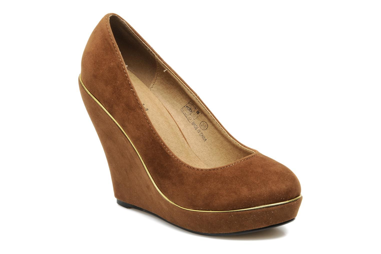 Buffalo Bonifa (Marron) - Escarpins en Más cómodo Dernières chaussures discount pour hommes et femmes