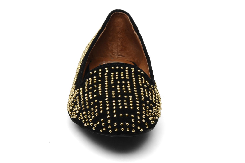 Mocassins Jeffrey Campbell Tron Noir vue portées chaussures