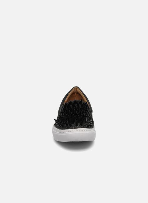 Sneaker Jeffrey Campbell Hawk ZN schwarz schuhe getragen