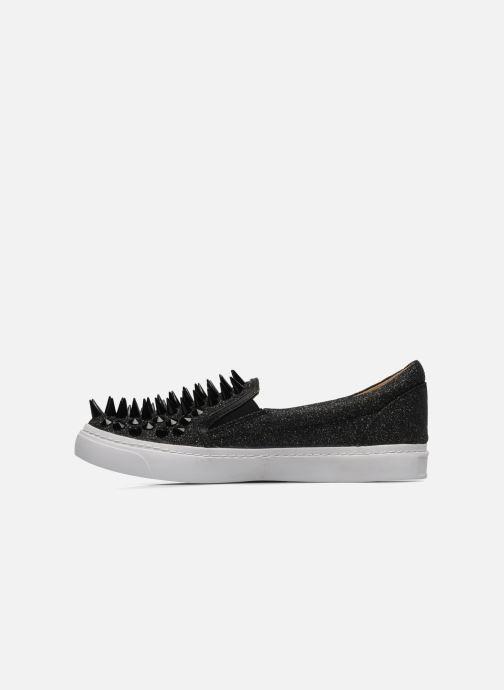Sneaker Jeffrey Campbell Hawk ZN schwarz ansicht von vorne