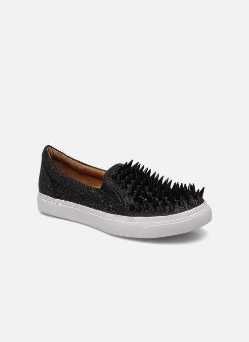 Sneakers Jeffrey Campbell Hawk ZN Zwart detail