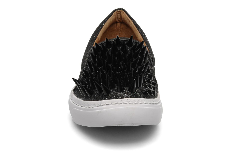 Baskets Jeffrey Campbell Hawk ZN Noir vue portées chaussures