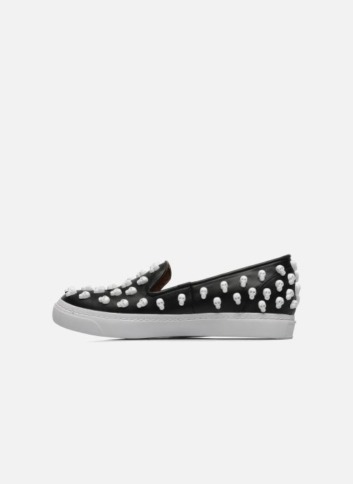 Trainers Jeffrey Campbell Skull Poli Black front view