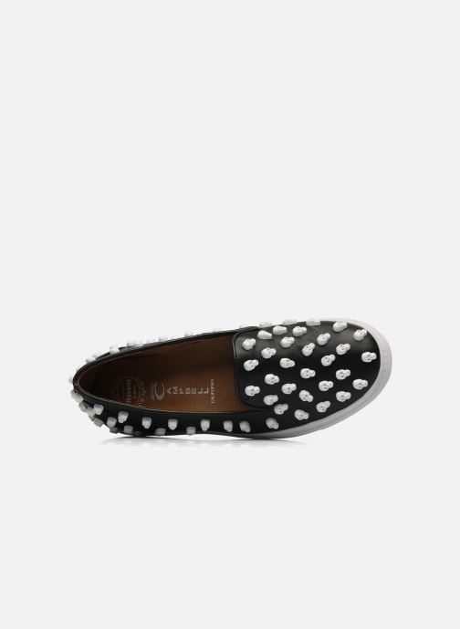 Trainers Jeffrey Campbell Skull Poli Black view from the left