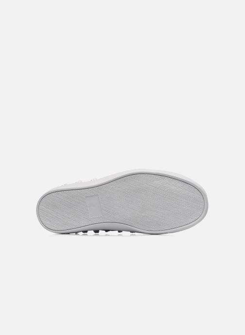Sneaker Jeffrey Campbell Skull Poli schwarz ansicht von oben