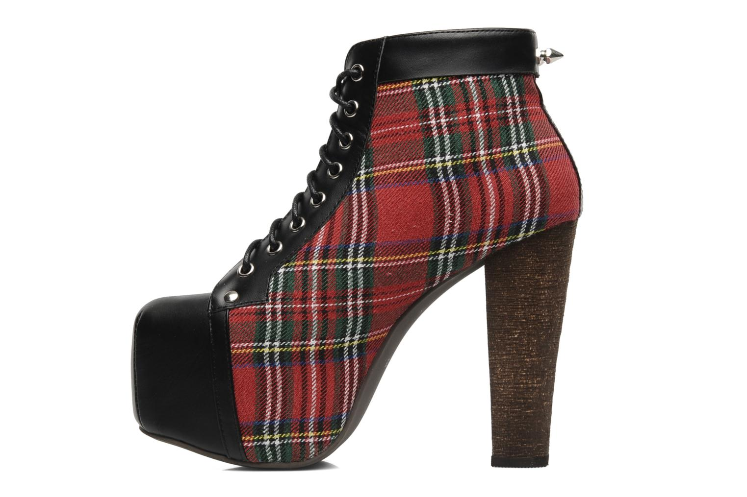 Ankle boots Jeffrey Campbell Half Pipe Red front view