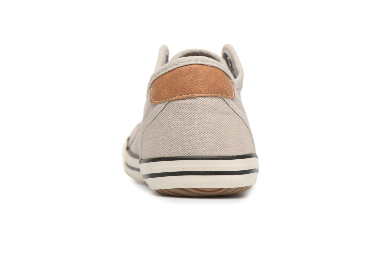 Baskets Mustang shoes Marco Gris vue droite