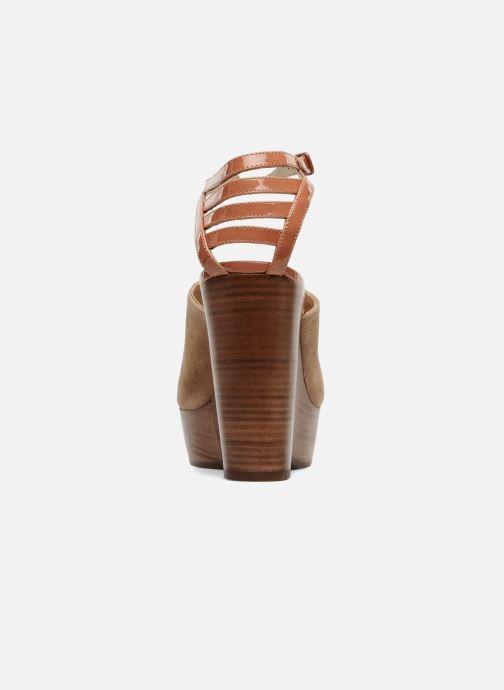 Sandales et nu-pieds See by Chloé Zagora Marron vue droite