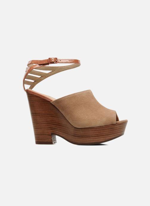 Sandales et nu-pieds See by Chloé Zagora Marron vue derrière