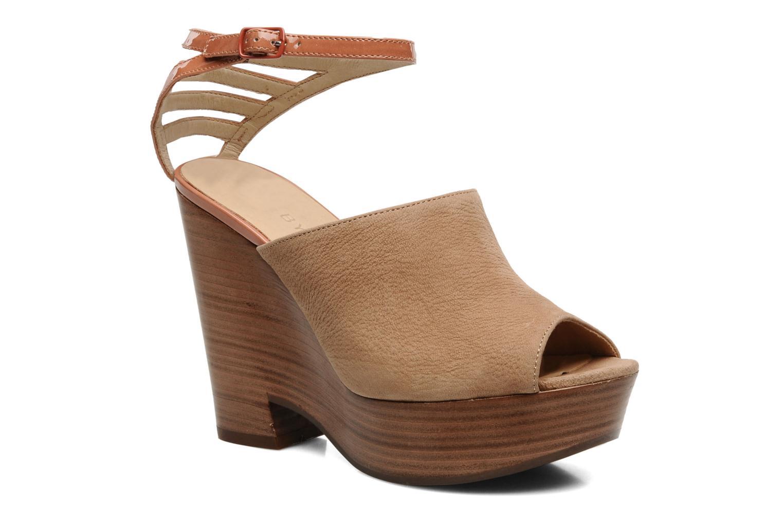 Sandales et nu-pieds See by Chloé Zagora Marron vue détail/paire