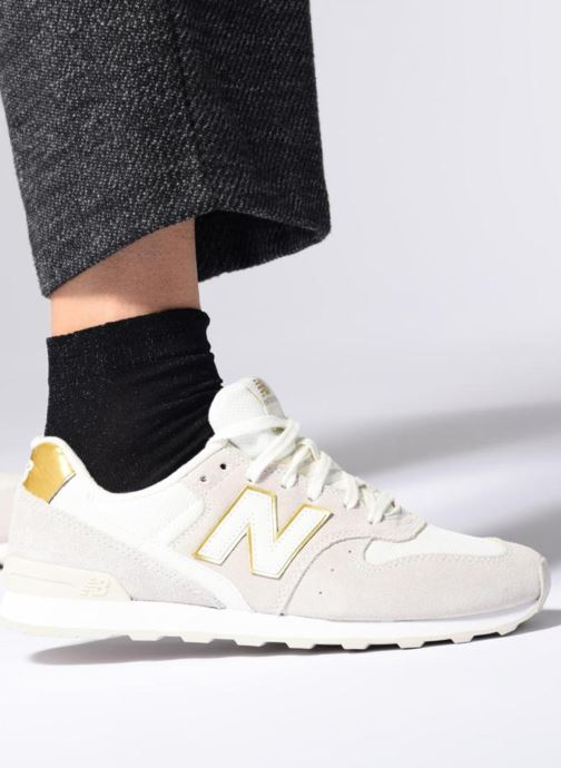 Trainers New Balance WR996 Purple view from underneath / model view