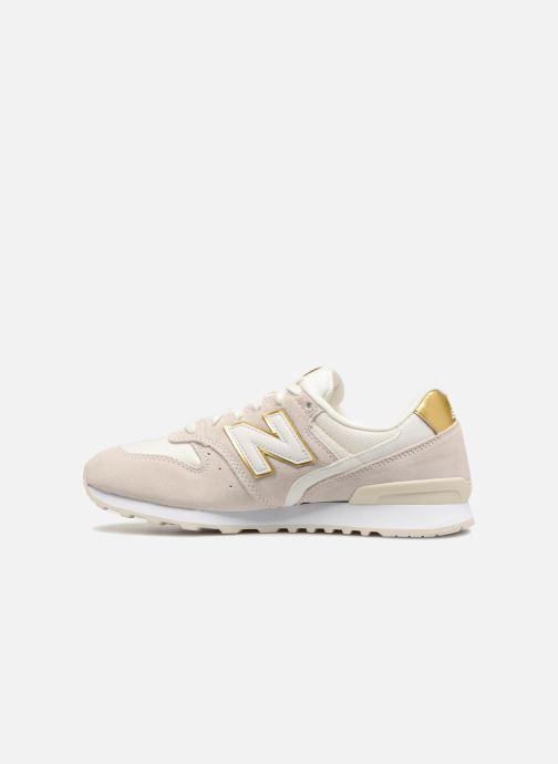 Sneakers New Balance WR996 Beige voorkant