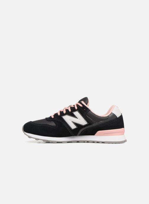 Sneaker New Balance WR996 schwarz ansicht von vorne