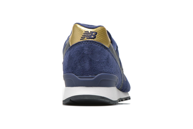Baskets New Balance WR996 Bleu vue droite