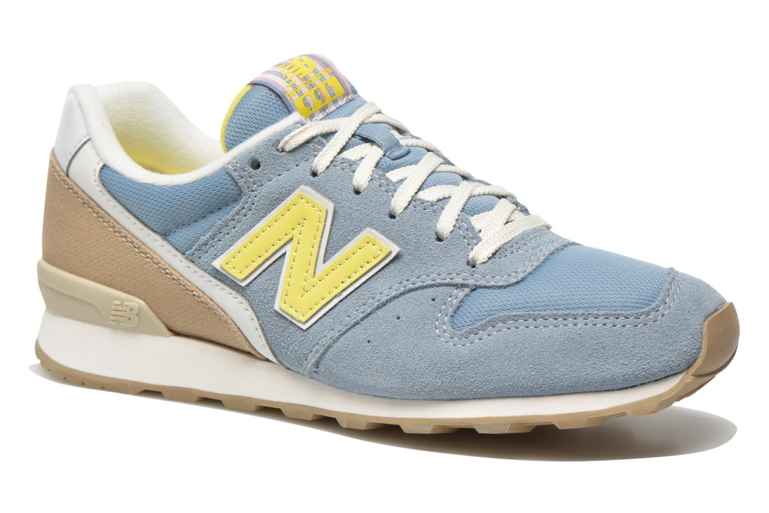 New Balance WR996 (Gris) - Baskets en Más cómodo Chaussures casual sauvages