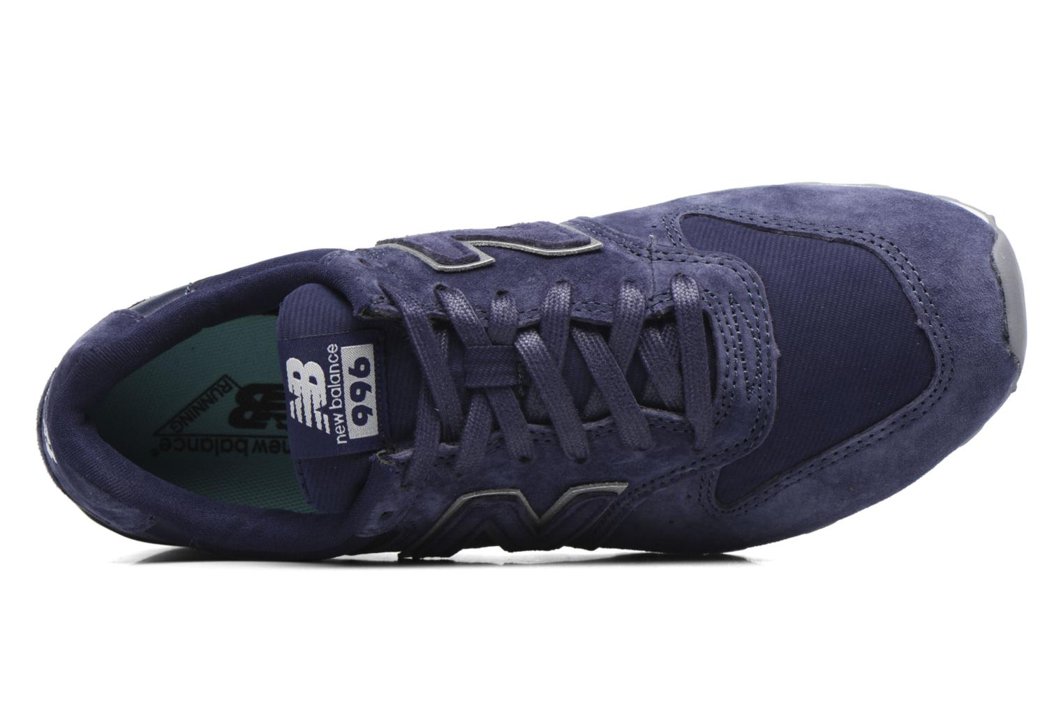 Trainers New Balance WR996 Purple view from the left