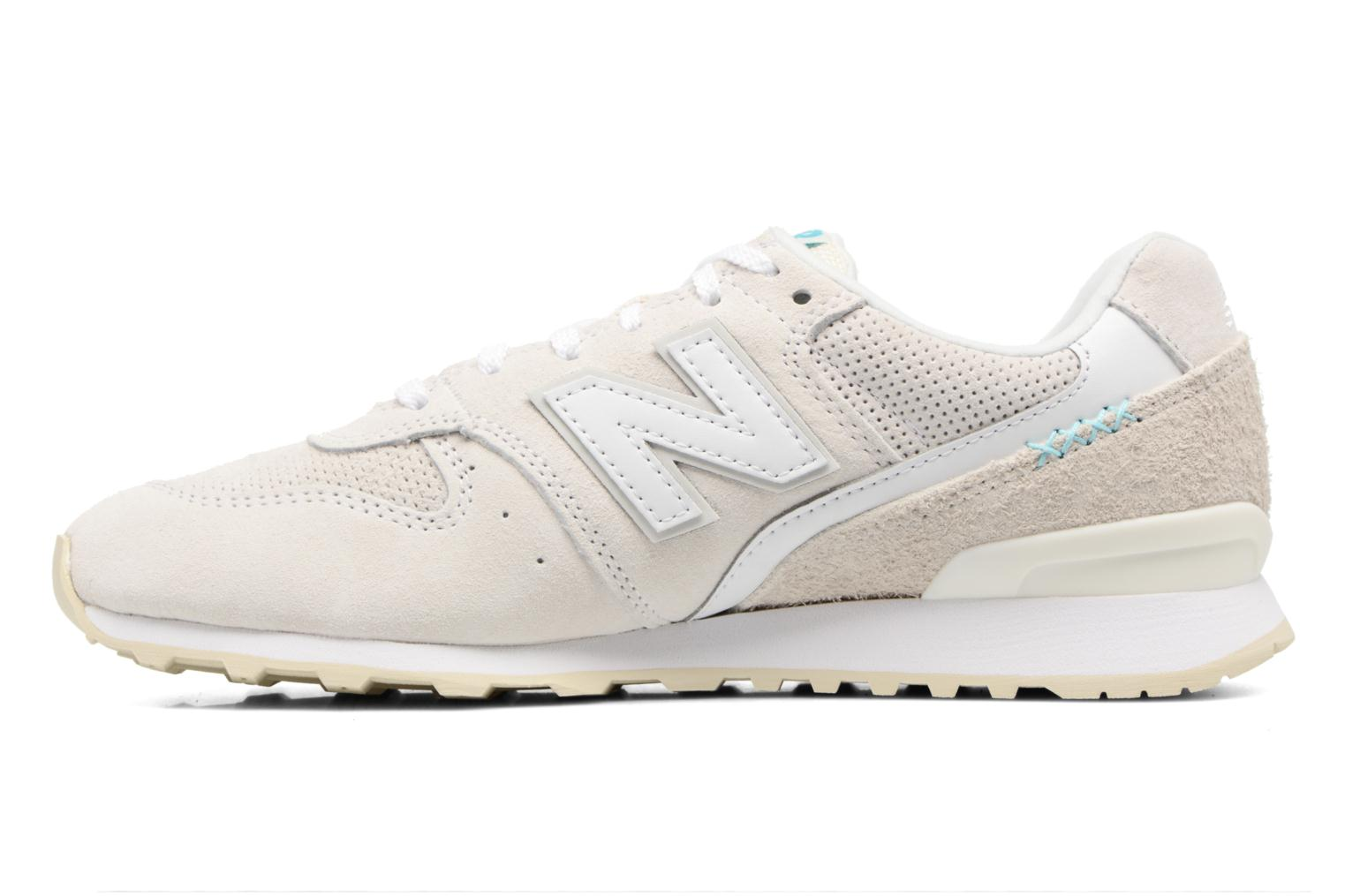 Sneakers New Balance WR996 Bianco immagine frontale