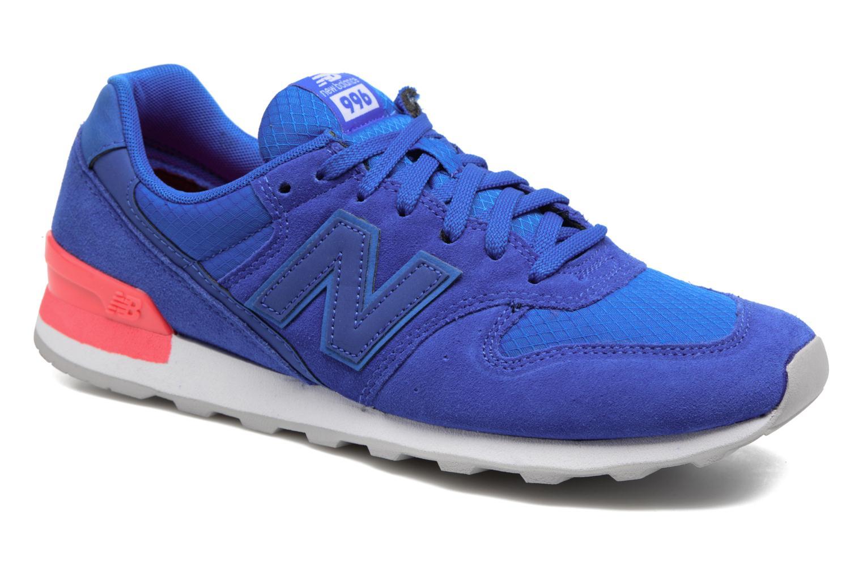 New Balance WR996 (Bleu) - Baskets en Más cómodo Chaussures femme pas cher homme et femme