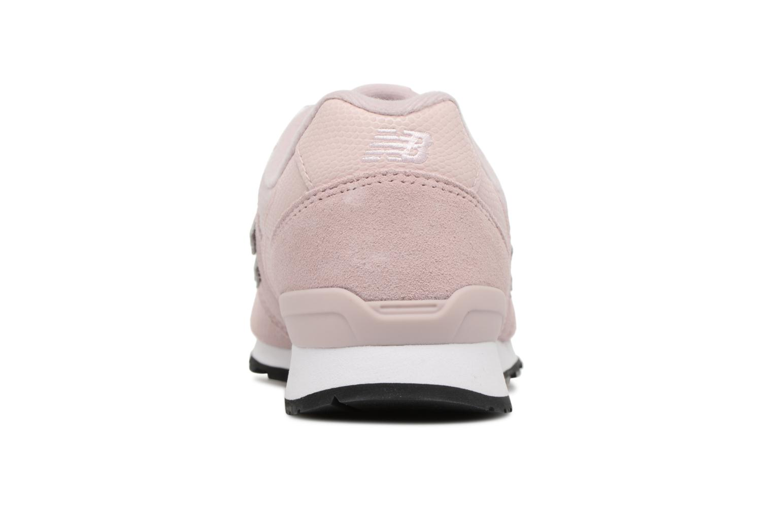Baskets New Balance WR996 Rose vue droite
