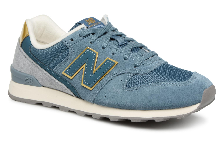 New Balance WR996 (Bleu) - Baskets en Más cómodo Nouvelles chaussures pour hommes et femmes, remise limitée dans le temps
