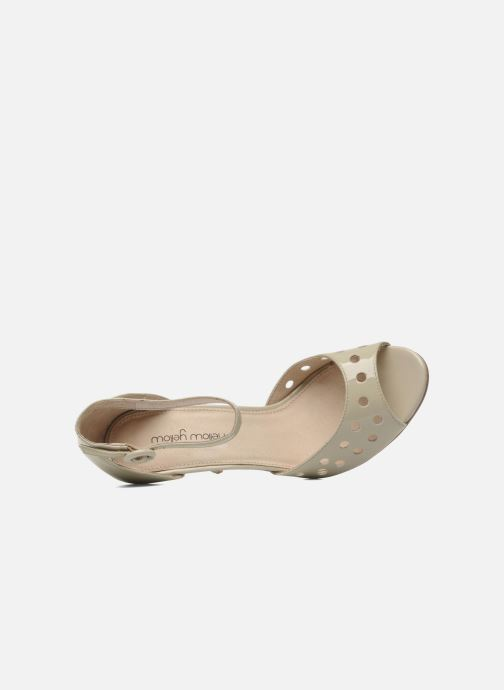 Sandali e scarpe aperte Mellow Yellow Nadege Beige immagine sinistra