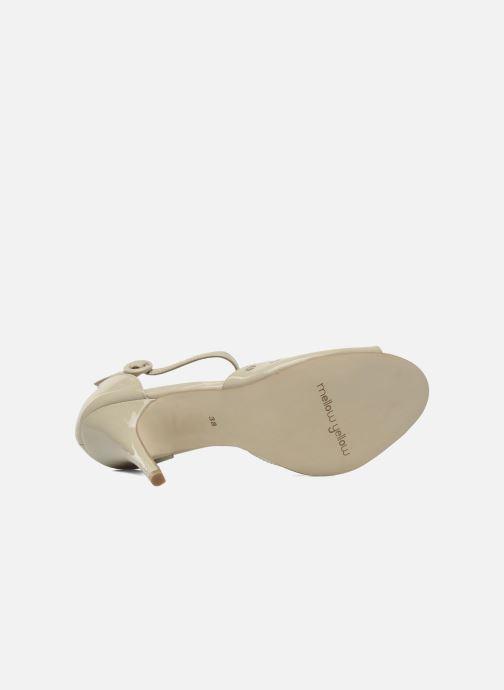 Sandales et nu-pieds Mellow Yellow Nadege Beige vue haut