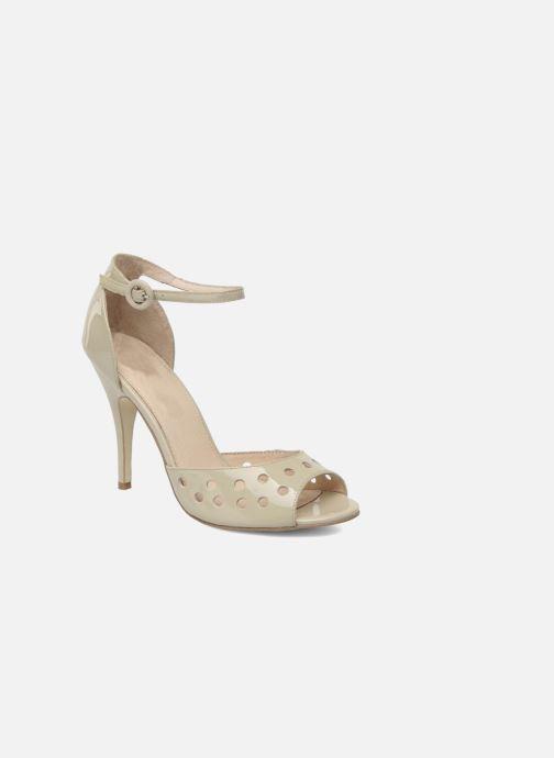 Sandales et nu-pieds Mellow Yellow Nadege Beige vue détail/paire