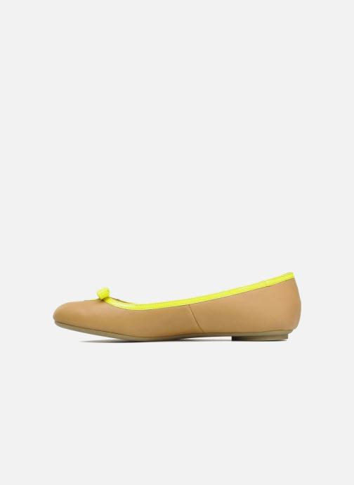 Ballet pumps Mellow Yellow Nikute Yellow front view
