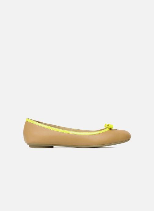 Bailarinas Mellow Yellow Nikute Amarillo vistra trasera