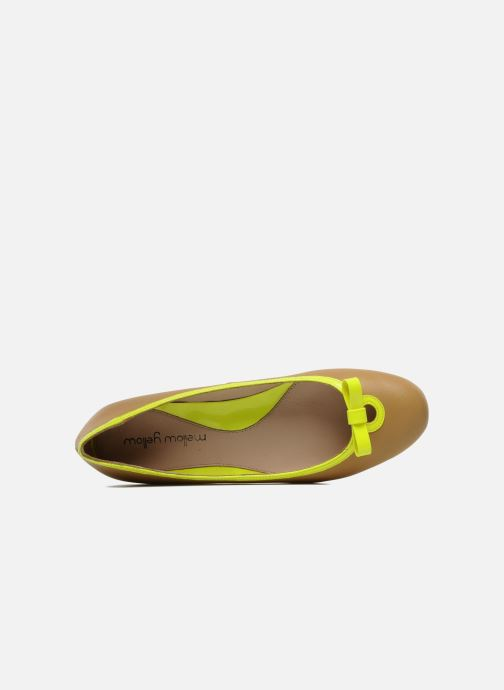 Ballet pumps Mellow Yellow Nikute Yellow view from the left