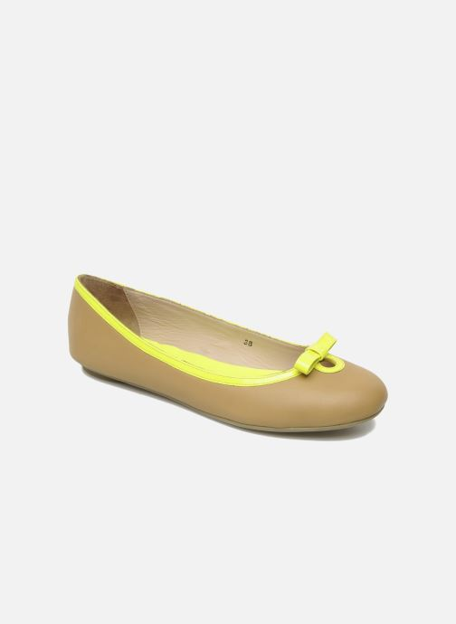 Ballet pumps Mellow Yellow Nikute Yellow detailed view/ Pair view